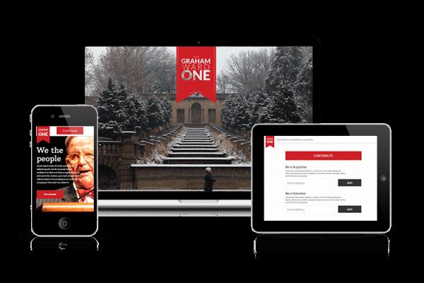 Jim Graham Political Campaign Landing Page